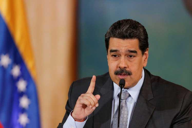 Maduro rechazó las medidas coercitivas anunciadas el 7 de febrero contra la compañía aérea venezolana. (Foto: PL)