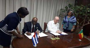 Cuba, Benin, comercio, Minrex