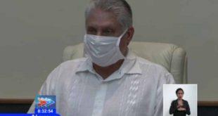 Coronavirus, Díaz-Canel, salud