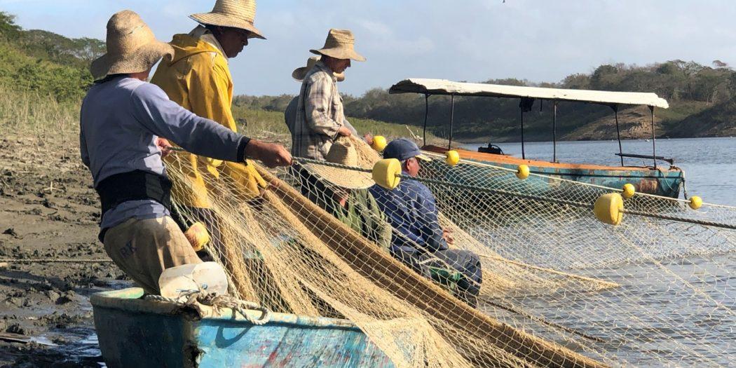 Acuicultura, pesca, presa Zaza