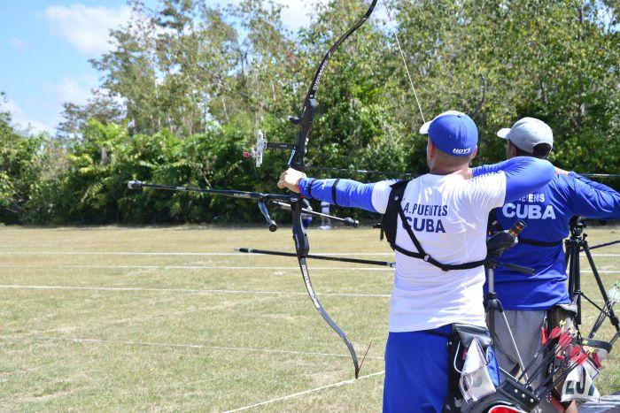Camagüeyano Omar Sabido al torneo de tiro con arco en Colombia