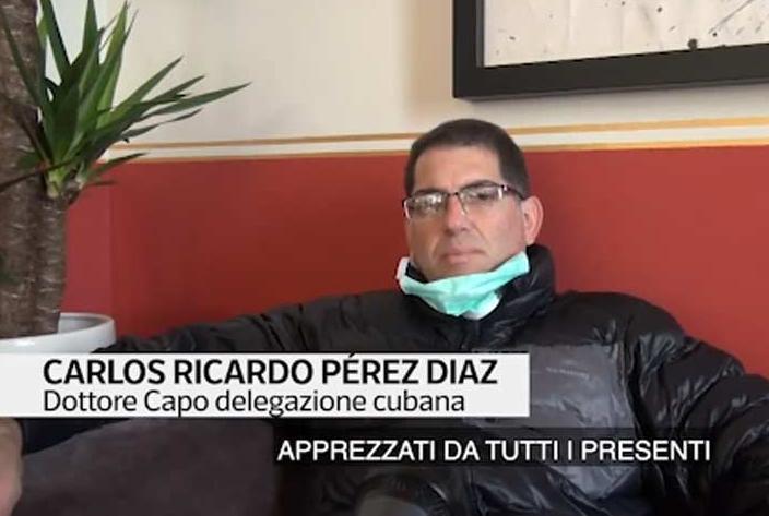 cuba, medicos cubanos, italia, lombardia, contingente henry reeve, coronavirus, covid-19