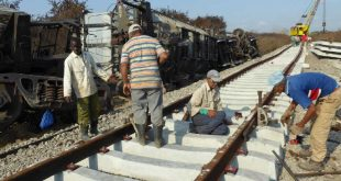 sancti spiritus, via ferrea, ferrocarriles, accidente ferrea, descarrilamiento tren