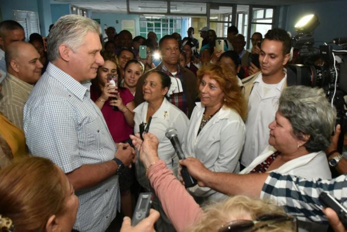 cuba, dia internacional de la mujer, mujeres, miguel diaz-canel, presidente de la republica de cuba