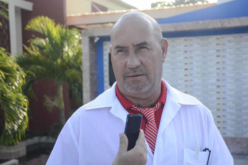 Esta será la sexta misión internacionalista de Hugo González. (Foto: ACN)