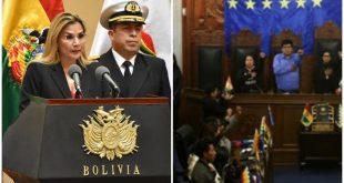 Bolivia, elecciones, goberno de facto
