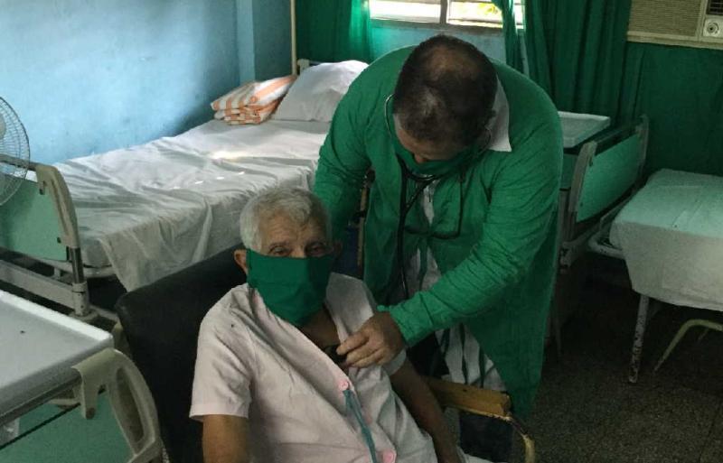 sancti spiritus, coronavirus, pandemia mundial, covid-19, hogar de ancianos, salud publica