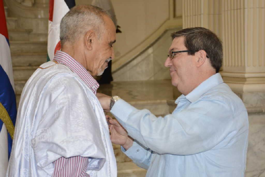 cuba, medalla de la amistad, republica arabe saharaui democratica