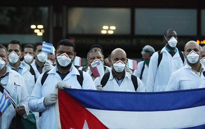rusia, cuba, coronavirus, covid-19, solidaridad, medicos cubanos, pandemia mundial