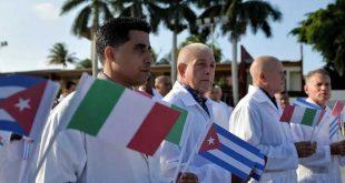 cuba, solidaridad, coronavirus, covid-19, medicos cubanos, contingente henry reeve