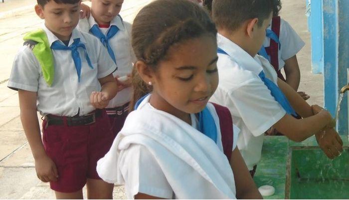plan contra el coronavirus en escuelas cubanas