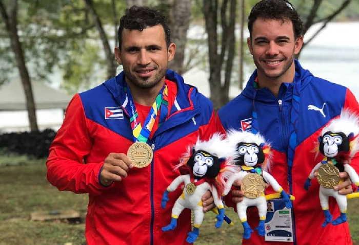 Serguey y Fernando Dayán mantienen su anhelo de rendir una buena faena en los próximos Juegos Olímpicos. (Foto tomada de la página en Facebook de Serguey)