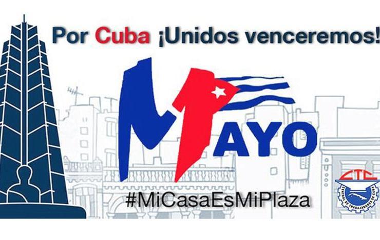 cuba, primero de mayo, presidente de la republica de cuba, miguel diaz-canel, coronavirus, covid-19
