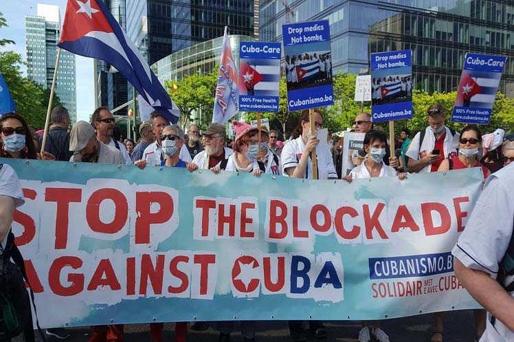 cuba, belgica, bloqueo de eeuu a cuba, solidaridad con cuba