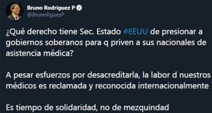 CUBA, ESTADOS UNIDOS, Colaboración médica