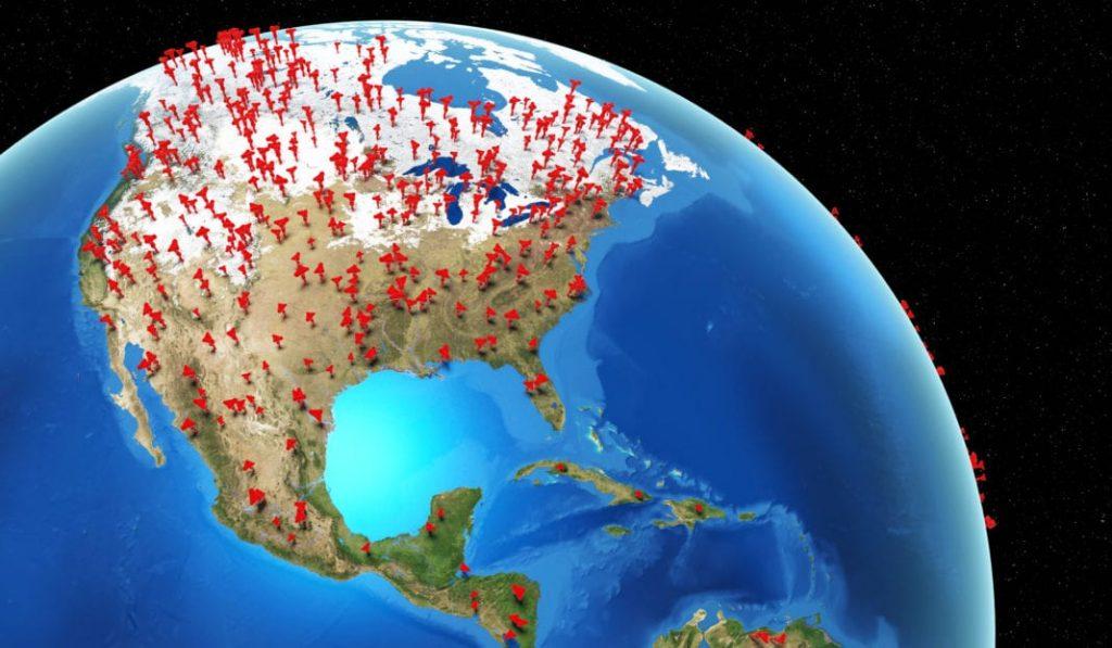 Estados Unidos es la nación más golpeada del mundo por la pandemia.