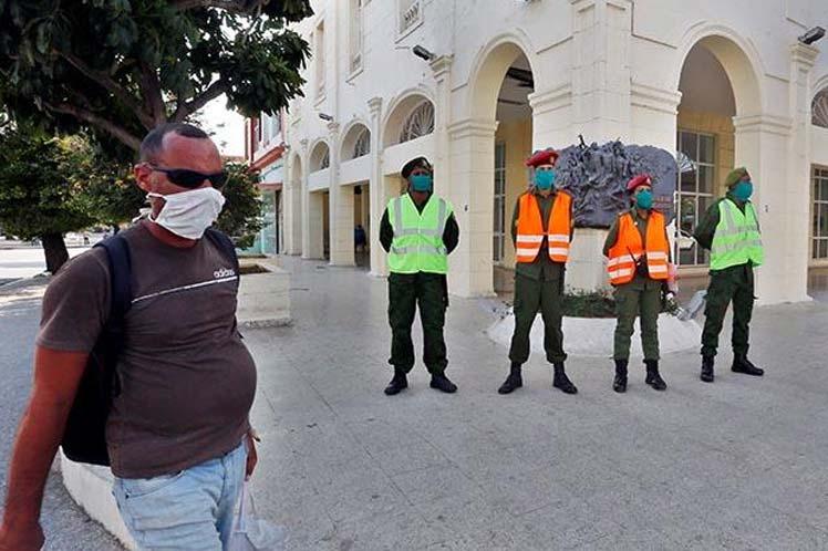 La capital cubana incrementa las medidas para evitar la propagación de la epidemia. (Foto: PL)