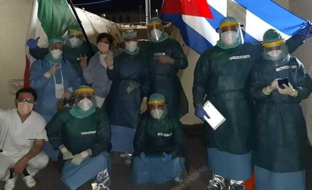 sancti spiritus, coronavirus, covid-19, salud publica, lombardia, italia, medicos cubanos, solidaridad, contingente henry reeve