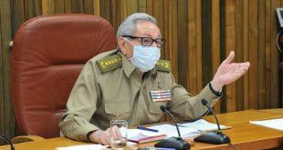 Coronavirus, Raúl Castro