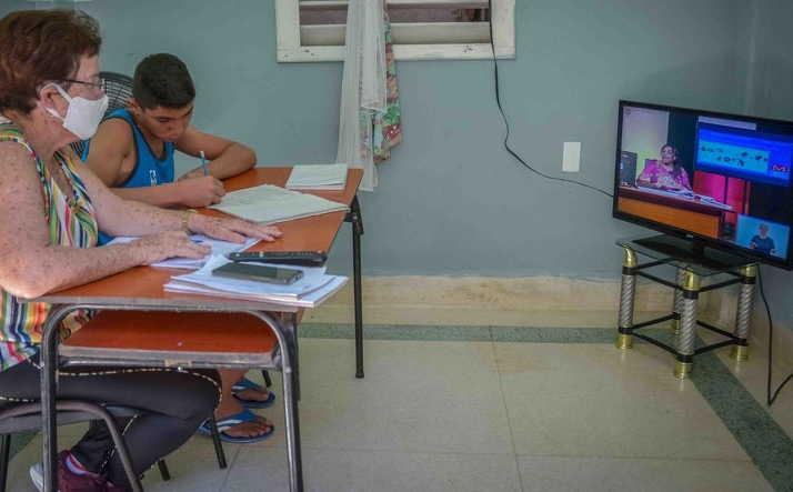 cuba, mined, ministerio de educacion, teleclases, coronavirus, covid-19