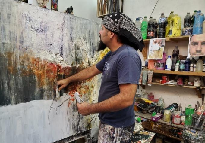 trinidad, artes plasticas, coronavirus, covid-19, pandemia mundial