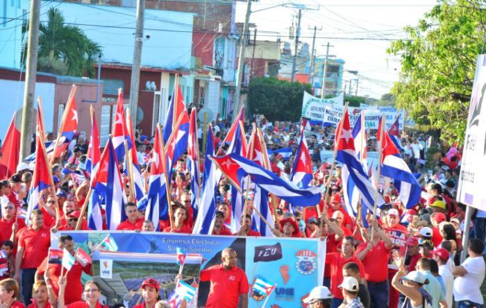 sancti spiritus, coronavirus, covid-19, primero de mayo, dia internacional de los trabajadores