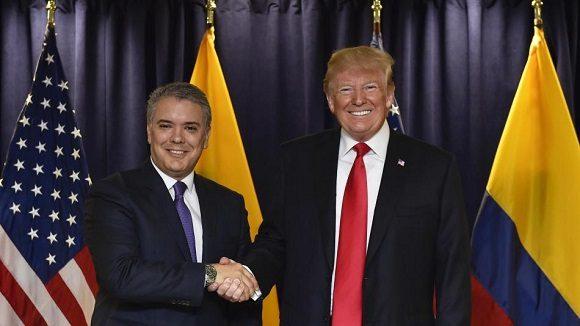Colombia niega apoyo en intervención militar de EU a Venezuela