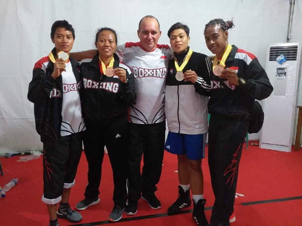 Bárbaro hace casi un año llegó a Indonesia a cumplir un contrato de trabajo a través de CubaDeportes. (Foto: Cortesía del entrevistado)
