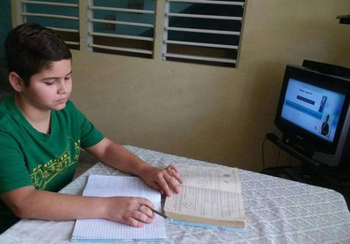 sancti spiritus, teleclases, coronavirus, secundaria basica, covid-19, salud publica, yaguajay
