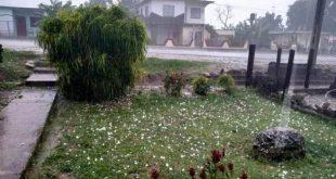 sancti spiritus, lluvias, tormenta local severa, cabaiguan, meteorologia