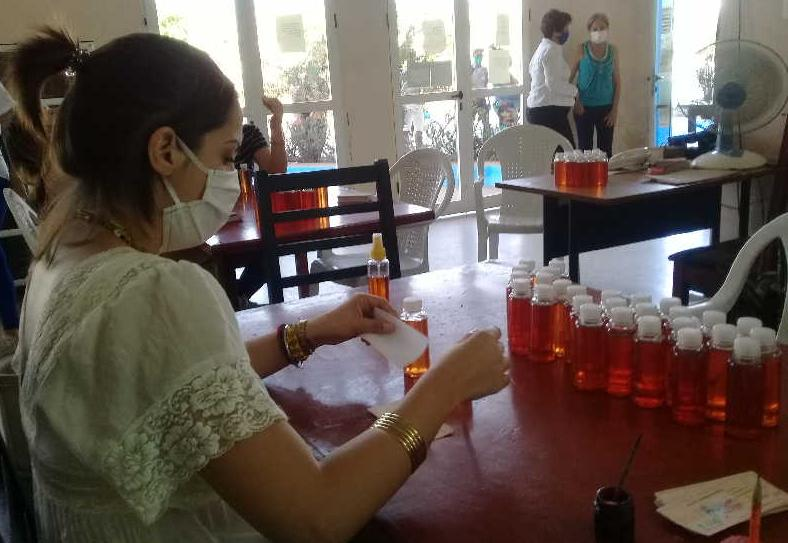 sancti spiritus, coronavirus, covid-19, labiofam