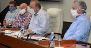 cuba, miguel diaz-canel, coronavirus, covid-19, presidente de la republica de cuba