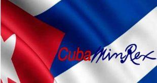 Cuba, Estados Unidos, Minrex, drogas