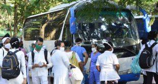 sancti spiritus, coronavirus, transporte, covid-19, salud publica