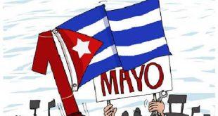 cuba, primero de mayo, dia internacional de los trabajadores, miguel diaz-canel, presidente de cuba