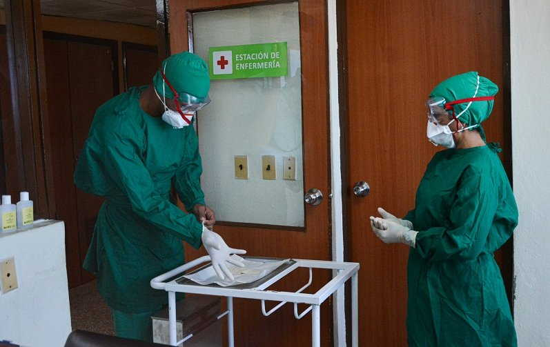 cuba, primero de mayo, medicos cubanos, dia internacional de los trabajadores, covid-19, coronavirus, miguel diaz-canel, presidente de la republica de cuba