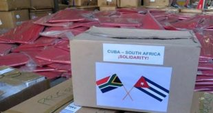 cuba, sudafrica, solidaridad, covid-19, coronavirus, salud publica