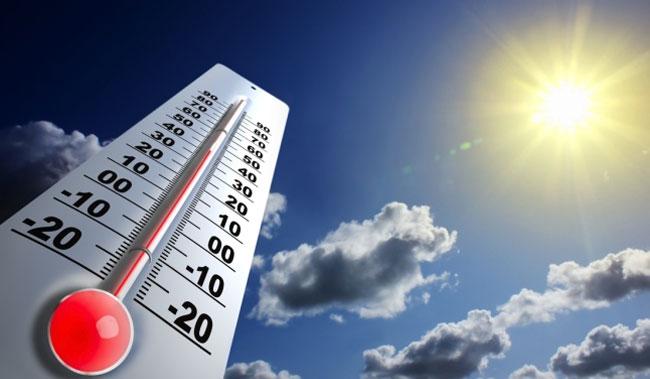 Las condiciones meteorológicas continuarán favorables para que se produzcan elevadas temperaturas.