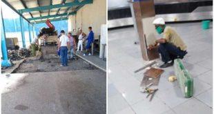 Aeropuerto, Cuba, reparación