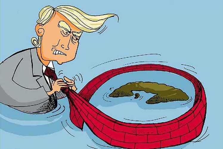 El cerco económico, recrudecido por la administración Trump, es la mayor expresión de las agresiones.