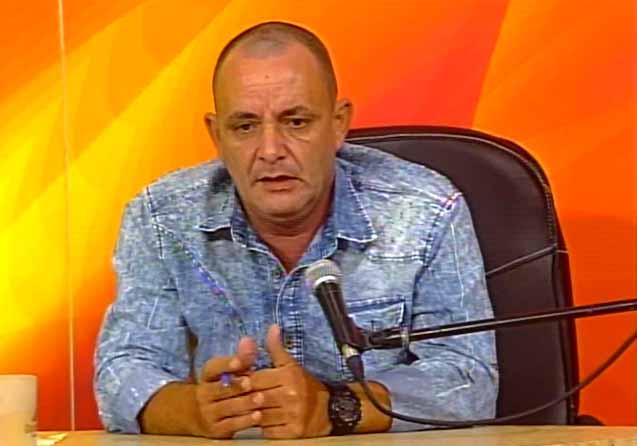 Ariel Fernández Martín, director del Grupo Empresarial de Comercio. (Foto: Tomada de Centrovisión)