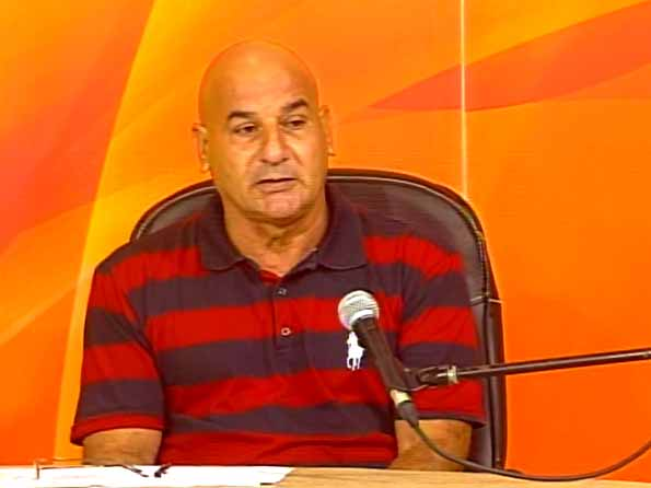 Juan Carlos Guzmán Furgel, director de la UEB Industria de Conservas de Vegetales de Sancti Spíritus. (Foto: Tomada de Centrovisión)