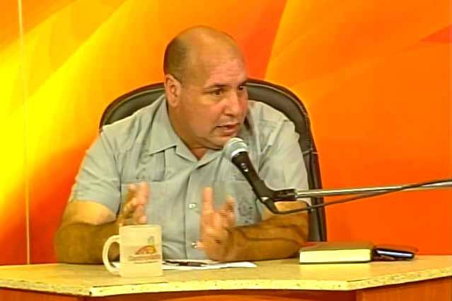 Leonel Díaz Camero, delegado provincial del Citma. (Foto: Tomada de Centrovisión)