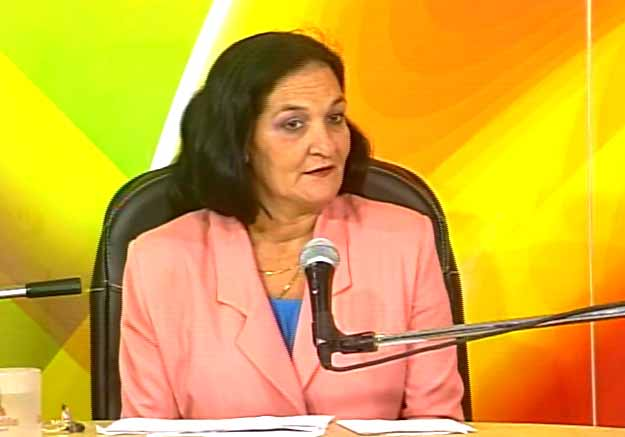 Marinely Jiménez González, directora provincial de Planificación Física. (Foto: Tomada de Centrovisión)