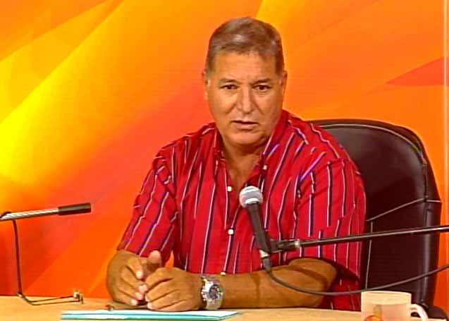 Néstor Borroto González, director provincial de la Vivienda. (Foto: Tomada de Centrovisión)