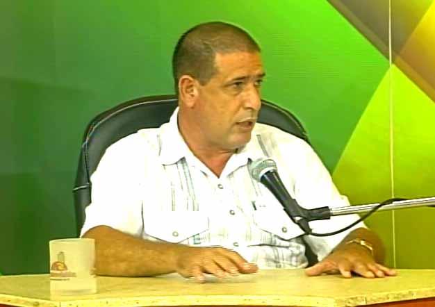 Doctor en ciencias Enrique Pérez Cruz, director del CIGB de Sancti Spíritus. (Foto: Tomada de Centrovisión)