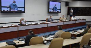 Consejo de Ministros, Díaz-Canel, economía
