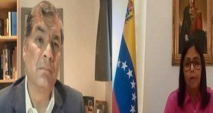 Venezuela, Estados Unidos, Nicolás Maduro, Rafael Correa
