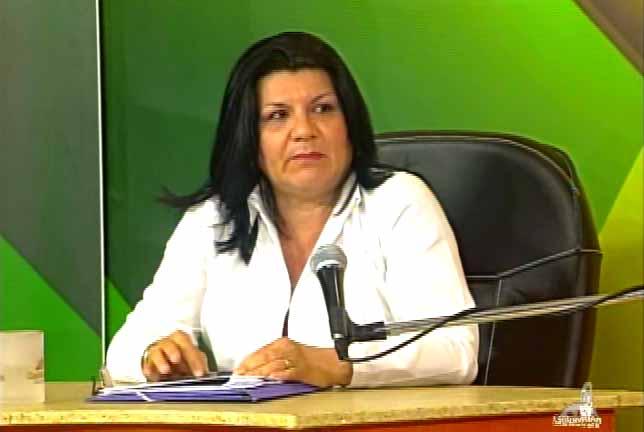 Doctora Magali Echemendía, rectora de la Universidad de Ciencias Médicas Faustino Pérez Hernández. (Foto: Tomada de Centrovisión)