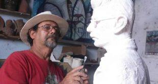 sancti spiritus, coronavirus, felix madrigal, escultura, artes plasticas, covid-19